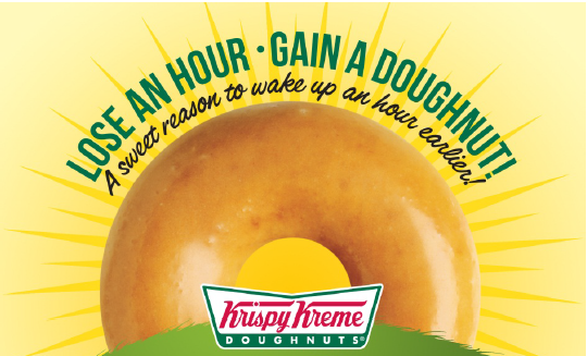 krispy kreme daylight savings 2014